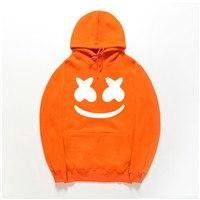 2018 Autumn winter New brand marshmello face Hoodies men Casual Hoodies Sweatshirtdresslliy-dresslliy