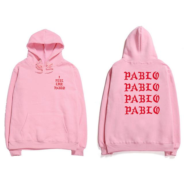Saint Pablo Hoodie Sweatshirts Kanye West I Feel Like Pablo Hoodies Mendresslliy-dresslliy