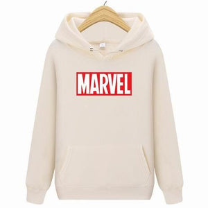 Men Women Cartoon MARVEL Hoodies Casual Long Sleeve Hoodies Streetwear Hip Hopdresslliy-dresslliy
