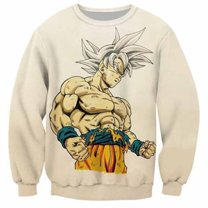 Dragon Ball Super 3D Anime Sweatshirt Men Goku Ultra Instinct 3Ddresslliy-dresslliy
