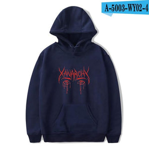 2018 Lil xan Xanarchy Fashion Hoodies Sweatshirts Autumn Hip Hop Men/Women Cooldresslliy-dresslliy