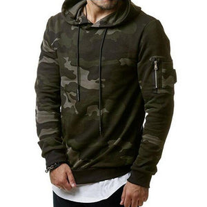 Camouflage Hoodies Men 2018 New Sweatshirt Male camo Hoody Hip Hop Autumndresslliy-dresslliy