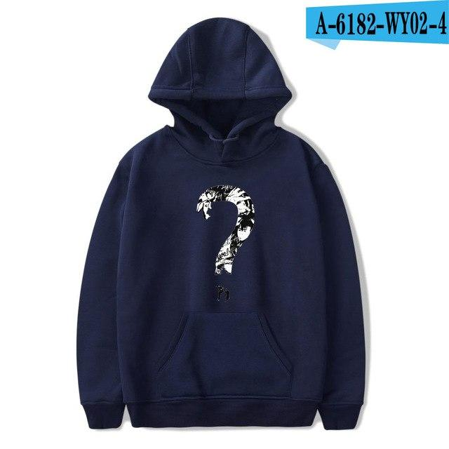 New Xxxtentacion Hoodies Hip Hop Fashion Sweatshirt Men Clothes Men's Hoodies Women'sdresslliy-dresslliy