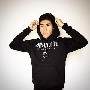 2018 New Hot Men Hoodies Sweatshirts High Quality ALPHALETE Printing Hoodie Fitnessdresslliy-dresslliy