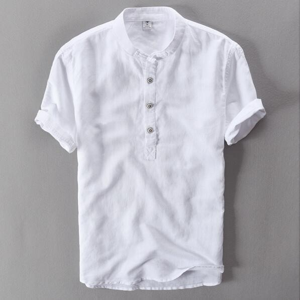 2018 summer men's short sleeved shirts breathes Cool shirtsdresslliy-dresslliy