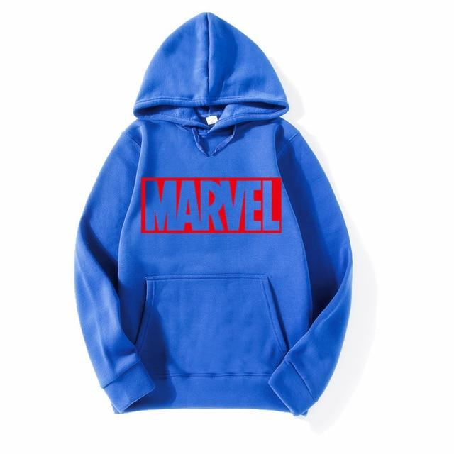 Newest Marvel Printed Hoodies Hip Hop Casual MARVEL Sweatshirt Thin MARVEL Printingdresslliy-dresslliy