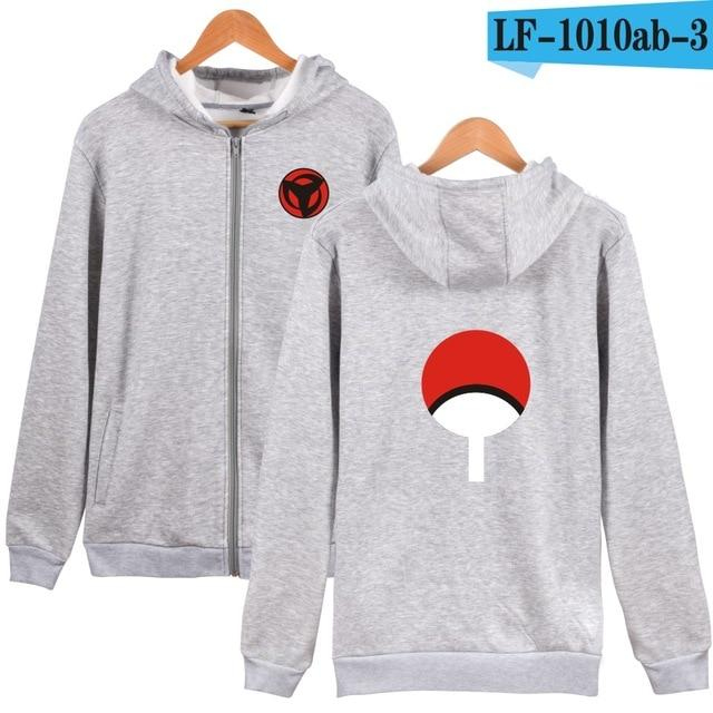 Naruto Classic Japanese Cartoon Hoodie Sweatshirt Men's Black Anime Hoodie Men'sdresslliy-dresslliy