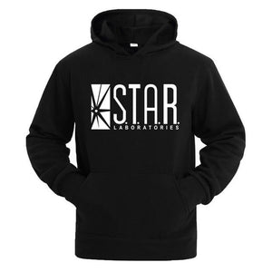 STAR labs black women/Men Hooded Hoodies Male sweatshirt jumper the flash gothamdresslliy-dresslliy