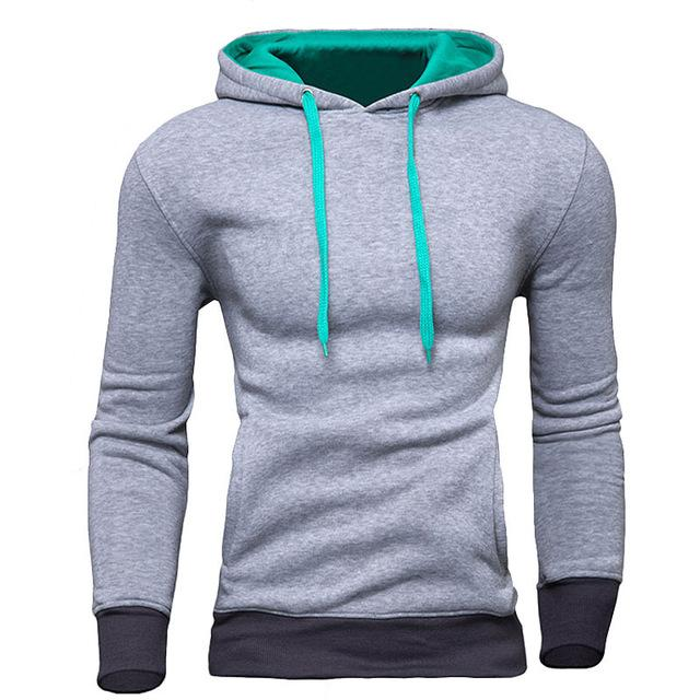 New Brand Sweatshirt Men Hoodies Fashion Solid Fleece Hoodie Mens Hip Hopdresslliy-dresslliy