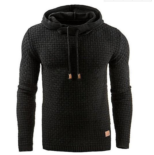 Hoodies Men 2018 Brand Male Hip Hop Long Sleeve Solid Color Hoodeddresslliy-dresslliy