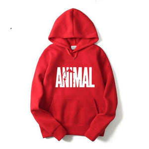 2017 Autumn and winter Bodybuilding Hoodies Men Animal Gyms Sweatshirts Long Sleevedresslliy-dresslliy