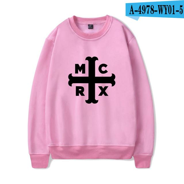 New Arrival Print Full Sleeve O-neck My Chemical Romance Sweatshirts Cool Anddresslliy-dresslliy