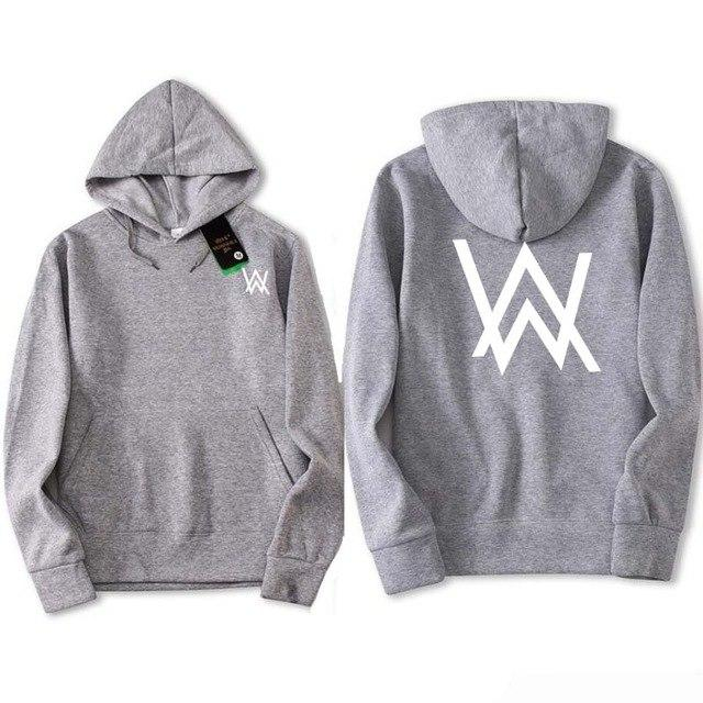 Fade 2018 AW New Sweatshirts Music DJ Comedy Alan Walker Clothes Hipdresslliy-dresslliy