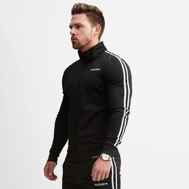 VQ 2018 New Autumn Fitness Hoodies Brand Clothing Men Hoody pullover Casualdresslliy-dresslliy