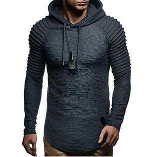 2018 Fashion Mens Hoodies Brand Solid Color Hip Hop Hoodie Sweatshirt Mensdresslliy-dresslliy