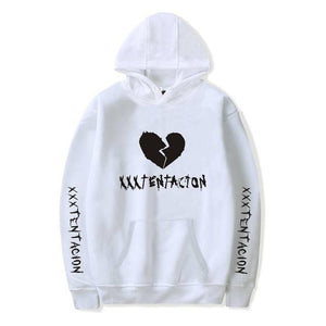 New Fashion Hoodies Men Casual Hip Hop XXXTentacion Printed Pullover Sweatshirt Mendresslliy-dresslliy