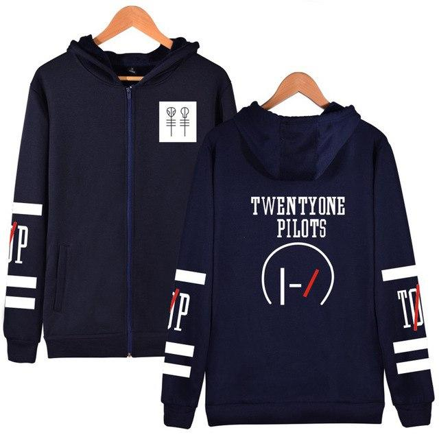 2018 Men's Fashion Twenty One Pilots Hoody Man Italia Autumn Anddresslliy-dresslliy