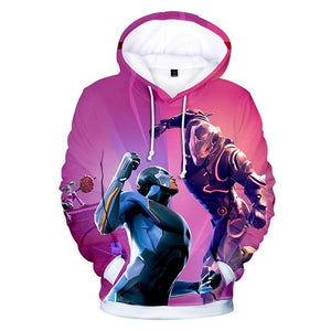Men/Women Clothes Fortnight Night 3D Color Printing Shadow Assassin Hooded Sweatshirtsdresslliy-dresslliy