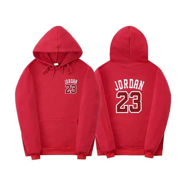 New Men's Hoodies Hot sale JORDAN Fashion Hip-Hop Men Jordan 23 Printdresslliy-dresslliy