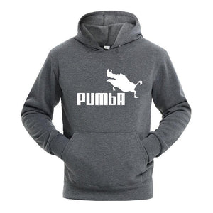 2018 Autumn Winter Men Hoodies Simba Pumba Drake Hooded Sweatshirts Streetwear Customdresslliy-dresslliy