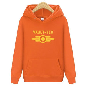 Vault Tec logo Gaming Video Game Fallout 2 3 4 Hoodie dresslliy-dresslliy