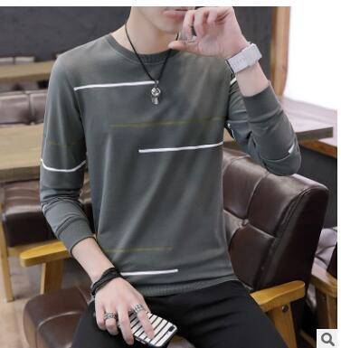 Fall 2018 new men's fashion clothes spring and autumn leisure men's weardresslliy-dresslliy