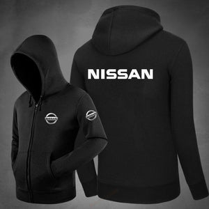 Winter nissan zipper Hoodie Sweatshirt Men Casual coats Hoodies jackets Men Hoodeddresslliy-dresslliy