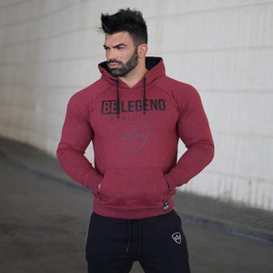 2018 Spring Hoodies Men Long Sleeve Loose Sweatshirts Fashion Solid GYMS Streetweardresslliy-dresslliy