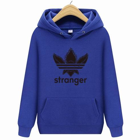 Autumn 2018 new women/men's casual players Stranger Things print hedging hooded fleecedresslliy-dresslliy