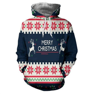 New Streetwear Men's 3D Print Christmas Clothing Hoodies Pullover Hoodied for Women/mendresslliy-dresslliy
