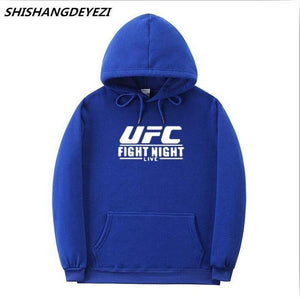 Letter Ultimate Fighting Championship Ufc Hoodies Sweatshirt Mens Women Fashion autumn winterdresslliy-dresslliy