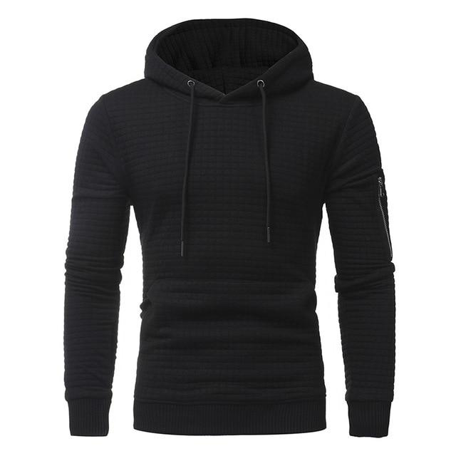 2018 Brand New Men's Hooded Sweatshirt Pullover Men's Casual Hooded Sweatshirtdresslliy-dresslliy