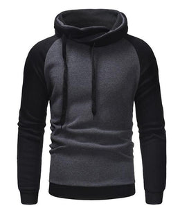 Casual Hoodies Men 2018 Autumn Fashion Brand Pullover Solid Color Turtleneck Sportsweardresslliy-dresslliy