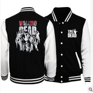 High-quality autumn the walking dead print sweatshirt men women unisex hoodies fitnessdresslliy-dresslliy