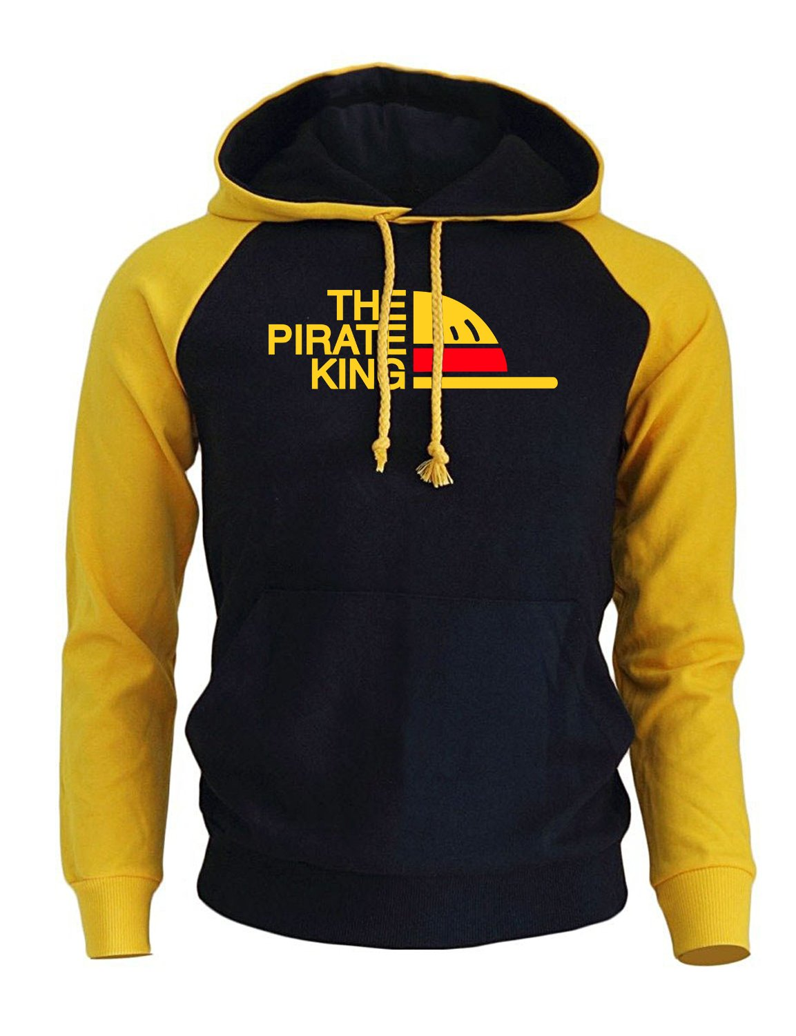 THE PIRATE KING Streetwear Hoodies For Men 2018 Autumn Winter Fleece Sweatshirtdresslliy-dresslliy