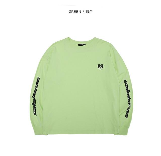 YouthCodes Kanye West Season6 CALABASAS Sweatshirt Men Cotton Fashion Casual Hip Hopdresslliy-dresslliy