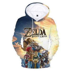The Legend of Zelda: Breath of the Wild Game Series 3D Hoodiesdresslliy-dresslliy