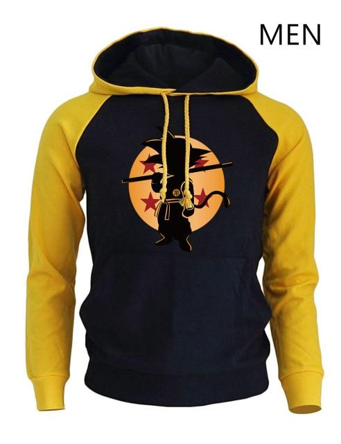 Dragon Ball Z Anime Hoodies Male 2018 Fashion Brand Clothing Super Saiyandresslliy-dresslliy