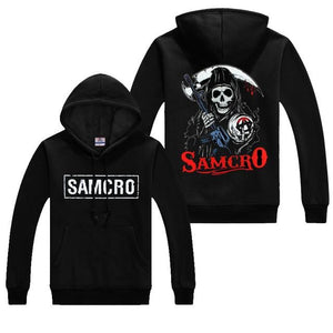 Autumn Sons of anarchy coats Fashion SAMCRO Men SOA Sportswear Hoodies Maledresslliy-dresslliy