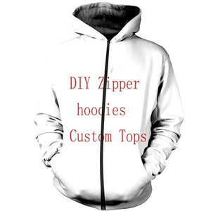3D Print Diy Custom Design Mens Womens Clothing Hip Hop Sweatshirtdresslliy-dresslliy