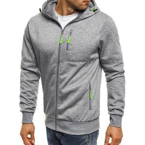 Hoodies Men 2018 New Fashion Hoodies Brand Men Personality Zipper Sweatshirtdresslliy-dresslliy