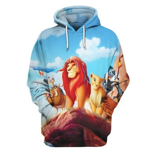 Cloudstyle Anime 3D Hoodies Men Clothes 2018 Sweatshirts One Piece Luffy Printdresslliy-dresslliy