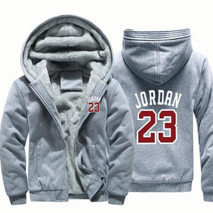 Winter Warm Thick Plus Design Men 2018 Baseball Hoodies Stylish Jordan 23dresslliy-dresslliy