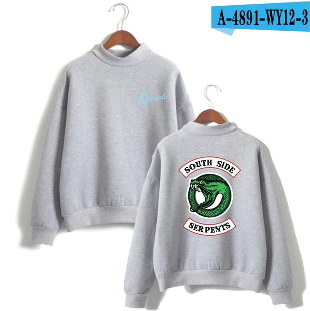 2018 Riverdale Hoodies Album Print Sweatshirt Men And Women Pullovers Fashion Styledresslliy-dresslliy