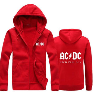 2018 autumn New Men Women Hoodies AC/DC brand rock Graphic Printdresslliy-dresslliy