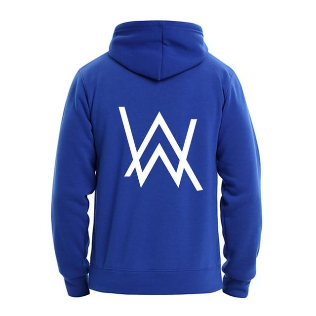 Winter Fleece Sweatshirt Alan Walker Faded Hoodie Men Sign Printing Hip hopdresslliy-dresslliy