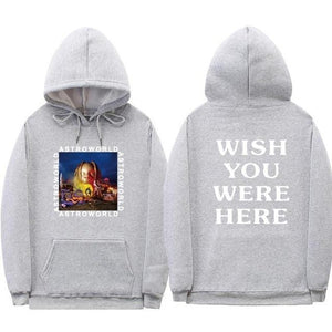 Print Travis Scotts ASTROWORLD Hooded Hoodies Men/Women Clothes 2018 Cartoon letter Hipdresslliy-dresslliy