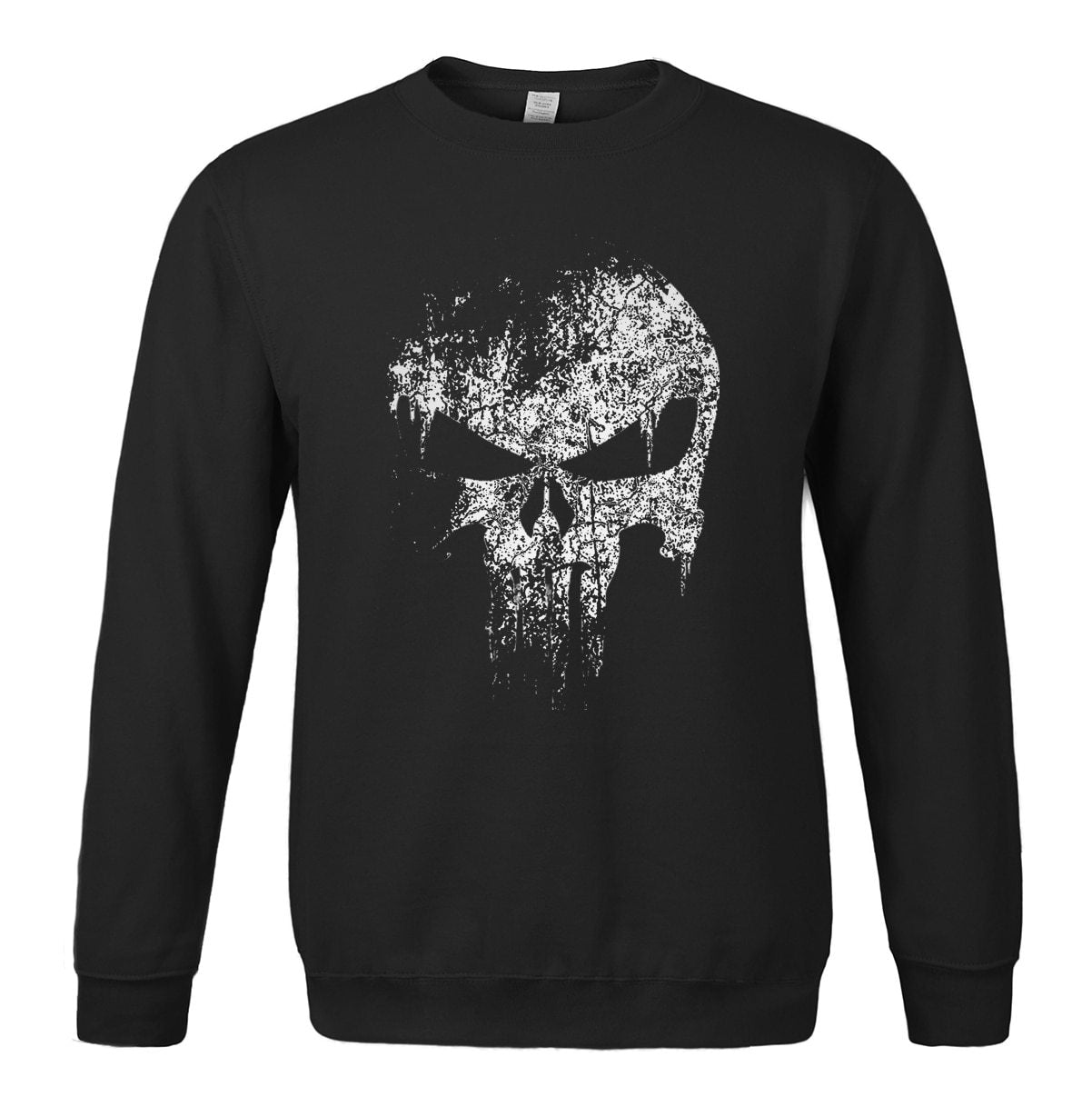 The harajuku Skull fashion men sweatshirt Supper Hero Series 2018 hot slaedresslliy-dresslliy