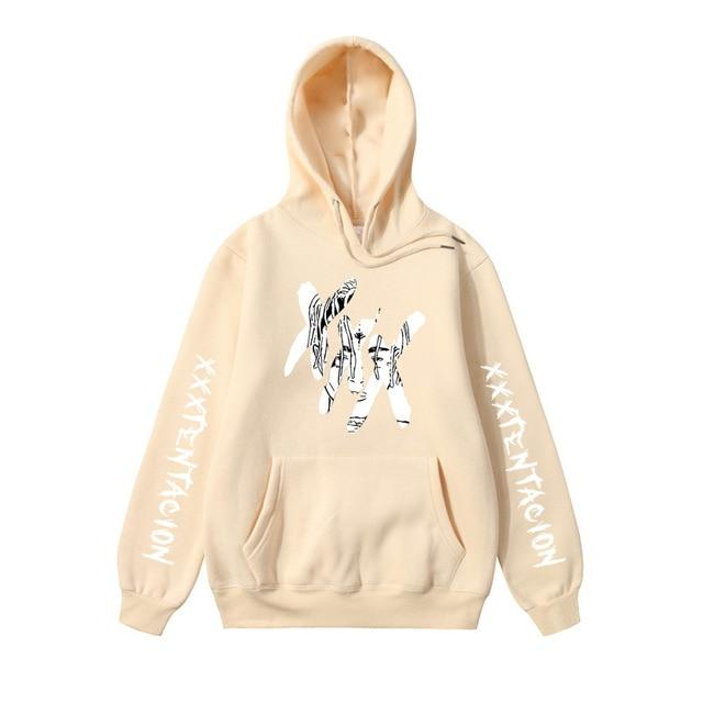 New Fashion Xxxtentacion Revenge Hoodies Men/Women Sweatshirts Rapper Hip Hop Hooded Pulloverdresslliy-dresslliy