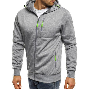 Hoodie Men 2018 New Fashion Hoodies Brand Men Zipper Sweatshirt Male Hoodydresslliy-dresslliy